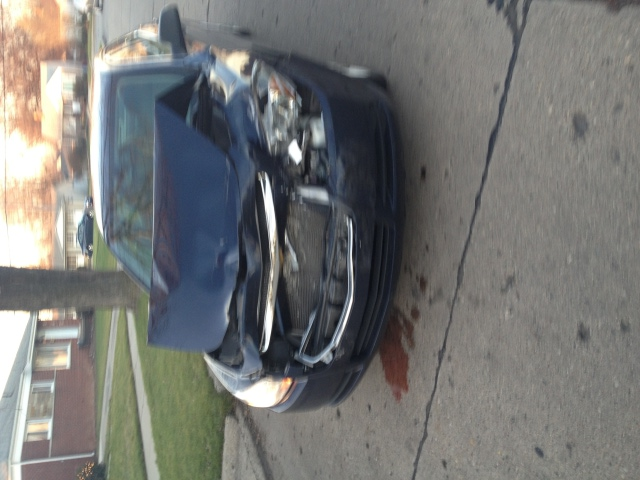 Car after accident