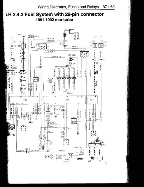 saab_cars Saab Wiring Harness 1992 saab 900 wiring diagram